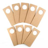 Crafter's Companion MDF Shapes - Door Hangers x 9-505718