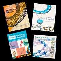 Search Press Set of 4 Books - Jewellery Making with Beads-506285
