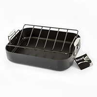 Baccarat Hard Anodised Roaster with Rack - 40x30x7.5cm-507909