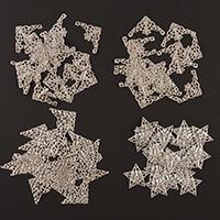 Craft Buddy 80 Metal Filigree Corners & Stars Collection-508350