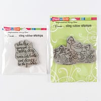 Stampendous 2 x Stamp Sets - Cute Boots & Puddleducks-508964