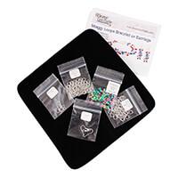 Weave Got Maille Shaggy Loop Bracelet & Earrings Bundle - Girls J-509437