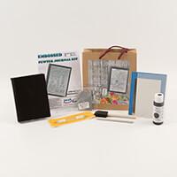 Peak Dale Products Metal Journal Kit- Journal, Pewter Piece, Prac-513637
