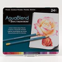Spectrum Aquablend Pencils x 24 - Florals-515043