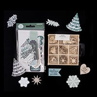Kaisercraft Wonderland 40 Die-Cut Shapes and 45 Piece Nordic Wood-517940