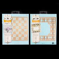 Spellbinders 2 x Card Creator Die Sets   Loopy   Deco Lux   4 Die-520177