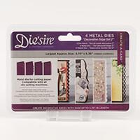 Die'sire Create a Card Die - Decorative Edges Set 2 - 4 Dies-522464