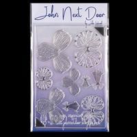 John Next Door Orchid Stamp Sheet - 9 Images-524226