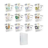 Clarity Design Club 2016 Edition Stamp Sets - 12 Stamps, 12 Proje-524940