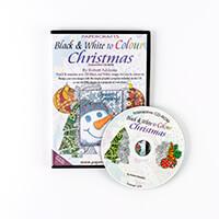 Robert Addams Black & White to Colour Christmas CD-Rom-526845
