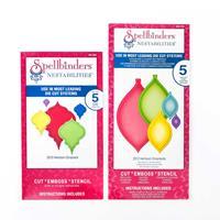 Spellbinders 2 x Nestabilities Die Sets - 2010 & 2012 Heirloom Or-527228