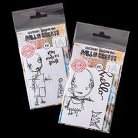 AALL & Create 2 x A7 Stamp Sets - Gabriel & Juniper - 6 Stamps-528330