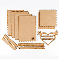 Daisy's Wedding Memories Box with Lid & Sentiment-531851