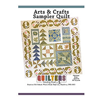 Quilter's Trading Post Arts & Crafts Sampler Quilt Pattern-532221