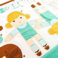 Juberry Fabrics Goldilocks and the Three Bears Soft Toy Panel-532904