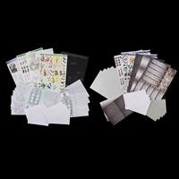 Luv Crafts The Old Times & Through the Window Cardmaking Kits - 1-533156