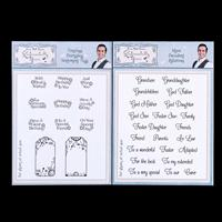 Sentimentally Yours 2 x Stamp Sets   Everyday Sentiments   More D-535315