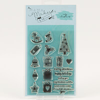 Mama Makes Cosy Christmas A6 Stamp Set - 19 Stamps-536565