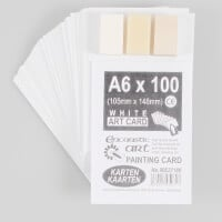 Encaustic Art 100 x A6 Painting Cards & 3 Wax Pack-537029