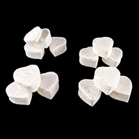Luv Crafts Set of 12 Heart-Shaped Favour Baskets - White-537531
