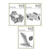 Nina Crafts Set of 3 Stamps - Festive Forager, Festive Accessorie-542751