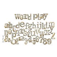 Sizzix Bigz® XL Tim Holtz Word Play Alphabet Die Set-543926