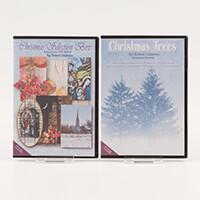 Robert Addams Christmas Selection Box and Christmas Trees CD ROMs-544684
