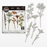 Sizzix® Thinlits™ Set of 5 Dies - Wildflower Stems #2 by Tim Holt-547490