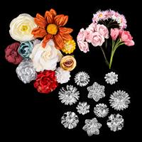 Craft Buddy Floral Embellishment Grab Bag Pick-n-Mix - Choose 3-548484