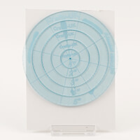 Crafty UK Set of 5 Nested Circles Templates- 1