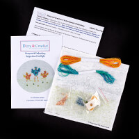 Dizzy & Creative Stumpwork Embroidery Kit - First Flight-551366