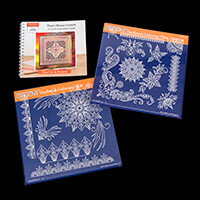 Groovi Plate Set of 2 - Tina's Henna Corners Duet with Tina's Hen-552728