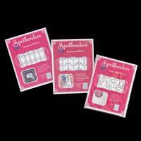 Spellbinders 3 x Impressabilities Dies - Diamond & Stars, Tulips -553524