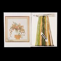 Thea Gouverneur Harvest Bouquet Cross Stitch Kit - 53cm x 56cm-554937