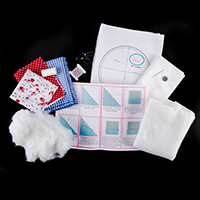 Sew Mine Box Fabric Basket & Pin Cushion Set Kit-555808