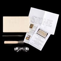 Southern Stone Basic Lettering Kit - 1 x Stone Block, 1 x Chisel,-556316