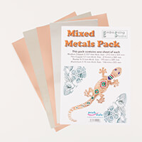 Peak Dale Products Mixed Metals Pack with Copper, Pewter & Alumin-556926