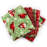 Sewing Online Christmas 5 x Fat Quarter Bundle-557042