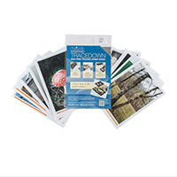 SAA 10 Line Drawing Photo Sheets & A4 Graphite Tracedown Paper-557689