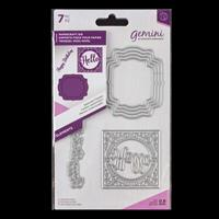Gemini Elements Die Set - Seasonal Frames - 7 Dies-558265