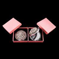 Set of 2 Diamante Pocket Mirrors-558919