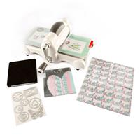 Sizzix® Big Shot Starter Kit with My Life Handmade Cardstock & Fa-561854