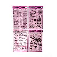 Dawn Bibby 4 x Clear Stamp Sets - Vintage, Floral & Sentiments - -564076