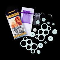 Gina-B Silkworks Circle Gauge Set – 2 Tools & 12 Gauges-564463