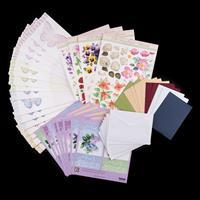 Reddy Cards 1 x Card Making Kit - Butterflies & Flowers-564876