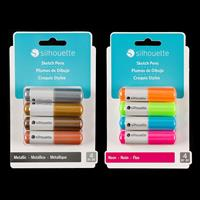 Silhouette Sketch Pens Pick-n-Mix - Choose 2 Packs - 8 Pens in To-567421