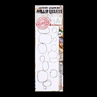 AALL & Create Stamp Set - Quirky Circles - 6 Stamps-567582