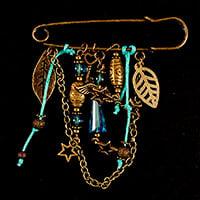 Aldridge Crafts Kilt Pin Brooch Kit-568761