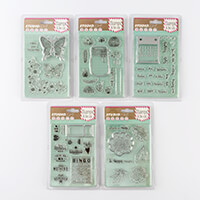 Studio Light 5 x Die & Stamp Sets - 5 x Dies & 61 Stamps Total-570197