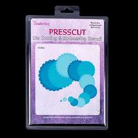 Press Cut Small Scalloped Nesting Die Set - Circles-570720